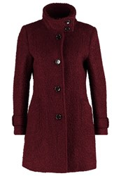 Comma Short Coat Ruby Dark Red