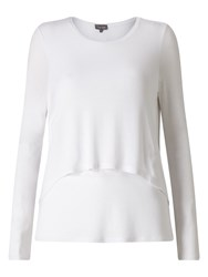 Phase Eight Dita Double Layer Top White
