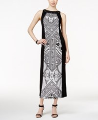Styleandco. Style And Co. Column Maxi Dress Only At Macy's Modena Scarf
