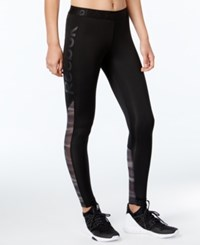 Reebok Speedwick Logo Leggings Black