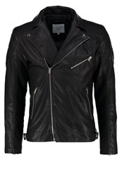 Jack And Jones Jcobenjamin Regular Fit Faux Leather Jacket Black