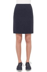 Women's Akris Punto Melange Jersey Pencil Skirt