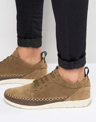 Boxfresh Rudiment Suede Trainers Tan