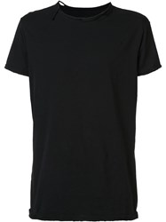 Greg Lauren Wrecked T Shirt Black