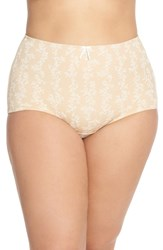 Plus Size Women's Elomi 'Nina' High Rise Boyshorts