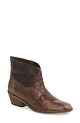 Free People Women's 'Dorado' Western Bootie Dark Taupe Leather
