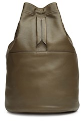 Rag And Bone Leather Backpack Green