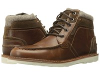 Steve Madden Intrepad Cognac Men's Lace Up Boots Tan