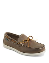 Eastland Yarmouth Leather Boat Shoes Gray