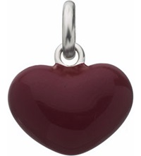 Links Of London Red Heart Sterling Silver Charm