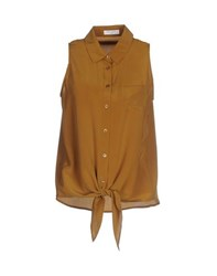 Equipment Femme Shirts Shirts Women Camel
