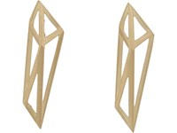 Monique Pean Women's Gold Geometric Drop Earrings No Color