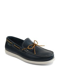 Eastland Yarmouth Leather Boat Shoes Navy