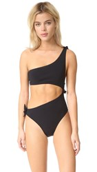 Bec And Bridge Moon Sisters Asymmetrical One Piece Black