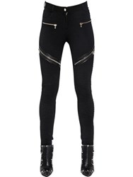 Givenchy Zipped Milano Jersey Biker Pants