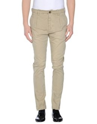 Met And Friends Casual Pants Military Green