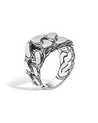 John Hardy Men's Sterling Silver Classic Chain Gourmette Ring