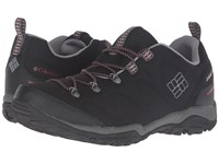 Columbia Firecamp Sport Waterproof Black Sail Red Men's Shoes