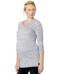 A Pea In The Pod Maternity Three Quarter Sleeve Sweater