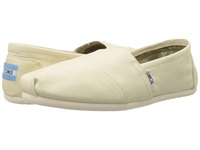 Toms Classics Natural Canvas Women's Slip On Shoes Neutral