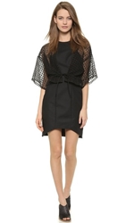 Sass And Bide Lateral Standing Dress Black