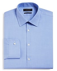 Bloomingdale's The Men's Store At Contemporary Fit Dress Shirt Blue