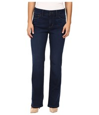 Nydj Petite Marilyn Straight Jeans In Future Fit Denim In Provence Wash Provence Wash Women's Jeans Blue