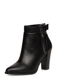 Dorothy Perkins Heeled Ankle Boots Black
