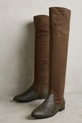 Anthropologie Farylrobin Pacco Riding Boots Moss