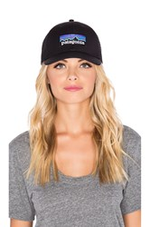 Patagonia P6 Low Profile Trucker Black