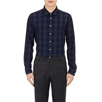 Brooklyn Tailors Loose Pique Knit Shirt Blue