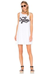 Wildfox Couture Outlaw Tank Dress White