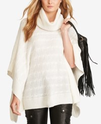 Polo Ralph Lauren Cable Knit Poncho Collection