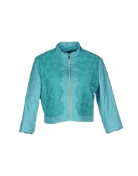 Hanita Coats And Jackets Jackets Women Turquoise