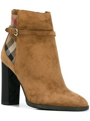 Burberry 'Stebbing Ford' Boots Brown