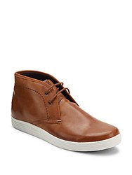 Ben Sherman Ankle Length Lace Up Shoes Tan