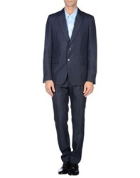Valentino Suits And Jackets Suits Men Dark Blue
