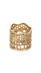 Aurelie Bidermann Vintage Lace Ring Gold