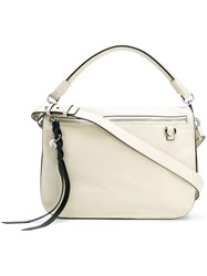 Alexander Mcqueen Skull Shoulder Bag White