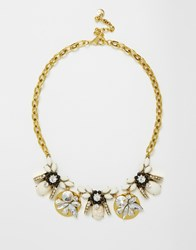 Nali Statement Gem Necklace Goldcrystal