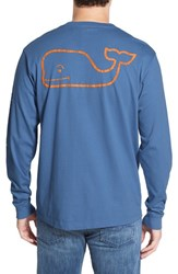 Vineyard Vines Men's Pocket Long Sleeve T Shirt Wipe Out