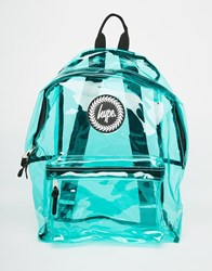 Hype Backpack In Green Perspex Green