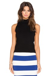 Milly High Neck Tank Black