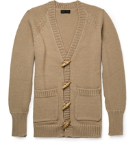 Burberry Cashmere Blend Cardigan Brown