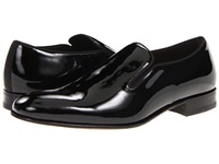 Mezlan Jacobs Black Patent Men's Slip On Dress Shoes