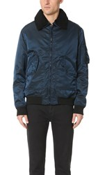 Isaora Flight Jacket Aviator Blue