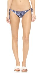 Diane Von Furstenberg Dvf Amalfi Bikini Bottoms Flower Power Midnight