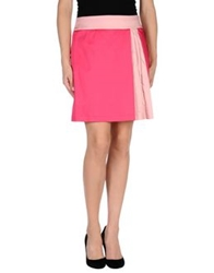 Love Moschino Mini Skirts Fuchsia