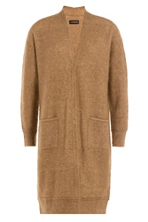 By Malene Birger Wool Mohair Cardigan Camel