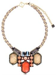 Nocturne Noa Orange Necklace